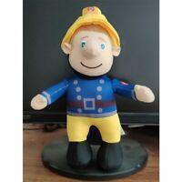 "New 10"" Fireman Sam Plush Soft Toy Teddy Stuffed Doll For Kids Birthday Gifts"