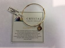 Authentic Alex and Ani Precious Crystal Color Therapy, Clarity Goldfill NWT