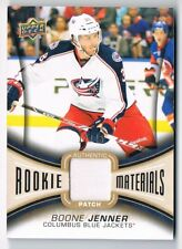 2013-14 Upper Deck UD Rookie Materials Patch #RM-BJ Boone Jenner 12/25 !!