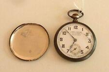 Horlogerie Montre à Gousset Chronomètre poinçon crabe Réf 216