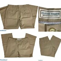 Old Navy Mens Straight Leg Khaki Chino Pants Size 36x30 Tan Classic Casual