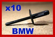 10 BMW PARAFANGO PASSARUOTA Pannello di plastica rivetti POP Fermo di plastica