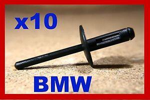 For BMW 10 mud guard wheel arch panel plastic pop rivet fastener clips