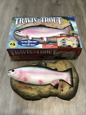 """Travis the Singing Trout Motion Activated """"Do Wah Diddy Diddy"""" & """"Rock the Boat"""""""
