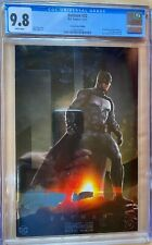 Batman #32 Ben Affleck Batfleck CGC 9.8 Photo Cover Foil Catwoman Tom King
