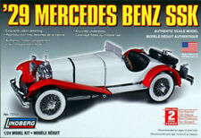 Lindberg 1929 Mercedes Benz SSK :24 scale model Kit 72326 new in the box