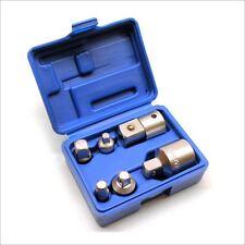 6 Piezas Adaptador paso arriba para abajo Socket Adaptador trinquetes sockets te236