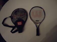 Raqueta de tenis wilson sampras grand slam Titanium Soft shock con bolsa