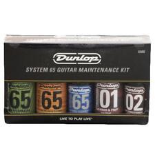 Dunlop System 65 Guitar Maintenance Kit - Polish, Cleaner, Wax, Cloths, etc