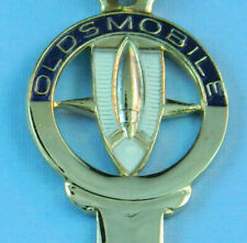 Oldsmobile Rocket Gold Silhouette 1970 1974 1978 1982 Crest Key Blank