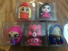Mixed Lot of 5 Display Fashems Mashems Monster, Care, DC, Barbie, Shimmer