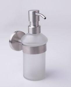 Seifenspender Bad Wand Glas Pumpe Edelstahl Seifen Spender Desinfektion Hände