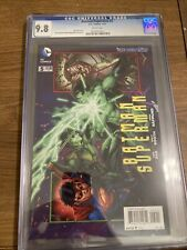 Batman/superman #5 CGC 9.8 Grek Pak Story 2014