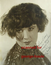 MARGARET LIVINGSTON - PHOTO - INSCRIBED -  INCE - HEARST- 101/2 x13 3/4