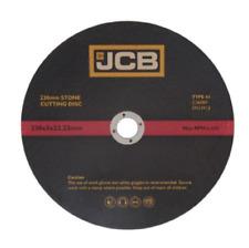 "JCB (9"") 230mm x 3mm  x 22.23mm Bore STONE CUTTING DISC (8414) x1 DISC"
