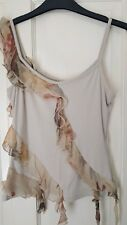 BEAUTIFUL PER UNA Marks and Spencer belly waist summer holiday top  BNWT Size 8