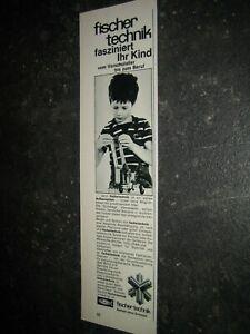 fischertechnik Werbung 1969 Katalog Prospekt catalogue catalogo pub ad (19)