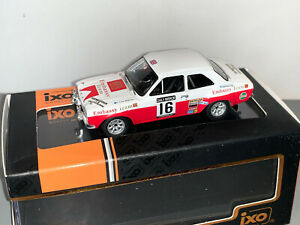 RALLY 1/43 IXO EMBASSY TEAM FORD ESCORT MKI RS1600 TIMO MAKINEN LOMBARD RAC 1971
