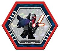 Kylo Ren Topps LEGO Star Wars Collectable Connexions Disc Force Awakens Jedi
