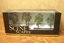"BACHMANN SCENE SCAPES 2.5"" - 2.75"" MAPLE TREES 4 TREES/BOX"