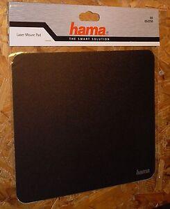 Hama Laser-Mauspad Schwarz