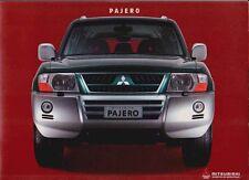 2003-04 MITSUBISHI NP PAJERO Australian 34p Prestige Brochure MONTERO SHOGUN