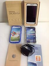 EXCELLENT CONDITION SAMSUNG GALAXY S4 SGH I337 16 GB WHITE FROST AT&T
