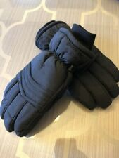 Saranac Women's Large Black Gloves Winter Ski Snowboard ,slightly used