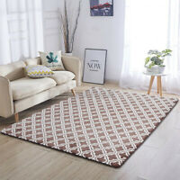 "24*71"" Flannel Area Rug Carpet Non-slip Floor Mat Dining Room Home Bedroom Decor"