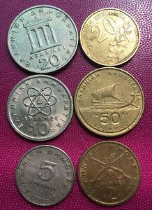 Greece Coin Set