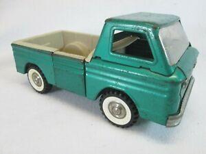 Vintage 1960's Structo green ramp side pick up truck