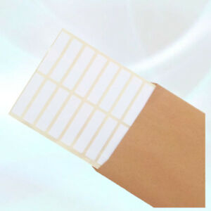 Blank White Self Adhesive Sticky Printer Labels 50x12mm 500 pcs