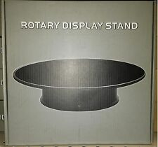 Rotating Felt Top Display Stand 12 inch Battery Operated for 1/18 scale Spining