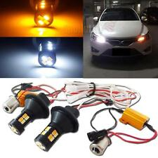 One Set 1156 S25 Dual Color Switchback LED Signal Light With DRL Function Kit