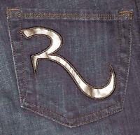 Rock & Republic Slim Fit Boot Cut Women's Mid Blue Jeans Sz 25 27 28 29 31 32