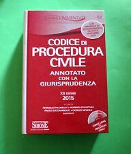 Codice di Procedura Civile annotato con la Giurisprudenza - Ed. Simone 2015