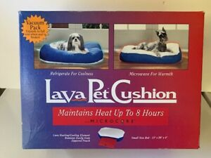 """Lava Pet Cushion Small 13 x 20"""" Warming or Cooling Element/Older Pets/Puppies"""