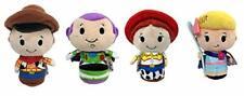 Disney Pixar Toy Story 4 Woody Buzz Jessie & Bo Peep Hallmark Itty Bittys Plush