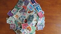 US -Accumulation/Kiloware 2oz (aprox 980) Difinitive stamps off paper- AC 221
