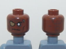 Lego Minifigure Head Pirates Of The Caribbean Gunner Zombie H50