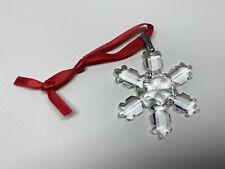 Swarovski Crystal 1992 Christmas Snowflake Star Ornament * Retired *