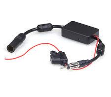 Car Stereo AM FM Radio Signal Antenna Aerial Signal Amplifier Booster 80-108MHz