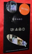 LED ZEPPELIN Set Of 3 US Promo Pins MINT on Card Zoso Houses Of The Holy IV