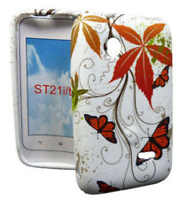 Muggle Silikon Case für Sony xperia Tipo Butterfly Etui Hülle Cover Schutzhülle
