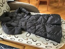 Cole Haan Women S Puffer Coat Down Feather Filled Long Brown Dark Chocolate MINT