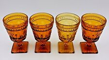 "SET OF 4 INDIANA GLASS 'COLONY PARK LANE' 5-3/8"" GLASSES"