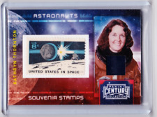 2010 PANINI CENTURY COLLECTION KATHRYN THORNTON SOUVENIR STAMPS RELIC #'D /100