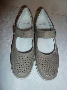 ARA Schuhe, taupe, Gr.9 / 42 .Weite H