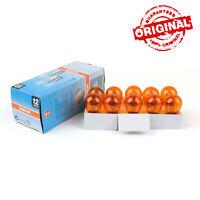 10x 12V 21/5W P21/5W BAY15D Stop DRL Feuxs Lumière Ampoules Amber 2200K AF