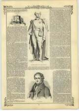 1844 Mr Bailey's Statue Of Sir C Metcalfe, J C Loudon